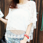 Lovely Sweet Free-spirited fully lace top