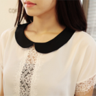 Lace Blouse with peter pan collar