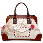 Paper Plane Overnight bag by Disaster Designs
