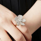 Cubic flower ring